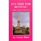 It's Time for Revival