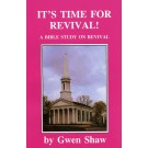 It's Time for Revival  (PDF)
