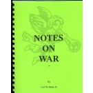 Notes On War # 14